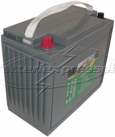 Gelbatteri 12V 162 Ah Batteriexpressen. LxBxH:340x173x283/303mm