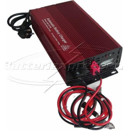 Batteriladdare 24V 12 A för laddning av AGM, GEL, SLI, MF batterier 60-180Ah