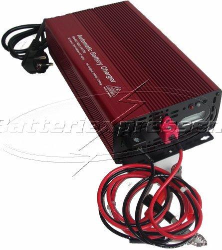 Omtyckta Batteriladdare 24V 12 A för laddning av AGM, GEL, SLI, MF PG-34