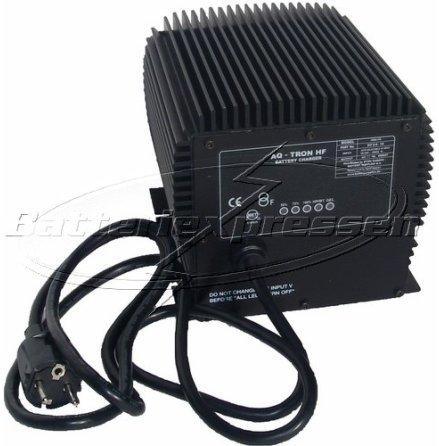 Batteriladdare 24V 19 A för vätske- eller gelbatterier 100-265Ah.IP66 klassad.