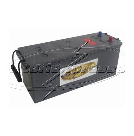 Gelbatteri Marin 143 Ah Batteriexpressen. LxBxH:513x223x230mm