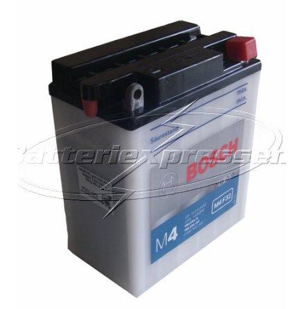 MC-batteri 12Ah YB12AL-A2 Bosch M4032 LxBxH:136x82x162mm