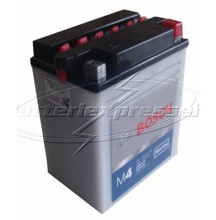 MC-batteri 14Ah YB14L-A2 Bosch M4034 LxBxH:135x90x167mm