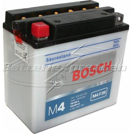MC-batteri 16Ah YB16B-A Bosch M4039 LxBxH:160/165x90x161mm