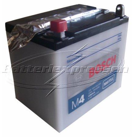 MC-batteri 24Ah 12N24-4 Bosch M4051 LxBxH:186x125x176mm
