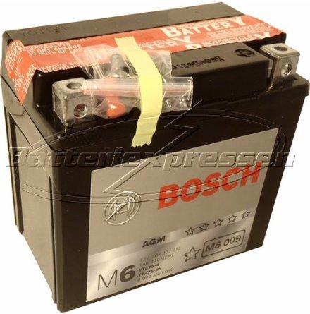 MC batteri 5 Ah YTZ7S-4 Bosch M6009 AGM lxbxh=113x70x105mm