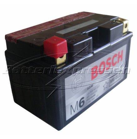 MC-batteri 8Ah YTZ10S-BS Bosch M6 AGM LxBxH:150x87x93mm