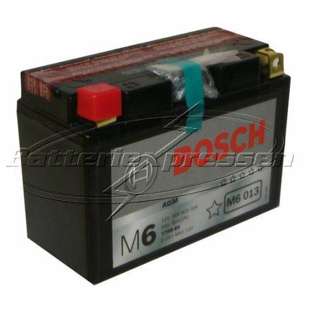 MC batteri 9Ah YT9B-4 Bosch M6013 AGM LxBxH:149x70x105mm