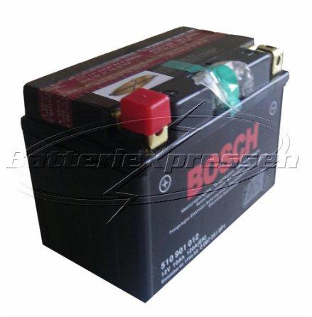 MC batteri 10 Ah YTR9-BS Bosch M6015 AGM LxBxH:150x87x105mm