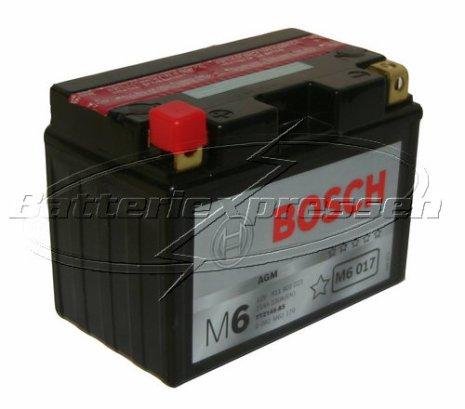 MC batteri 11Ah YTZ14S-BS Bosch M6017 AGM LxBxH:150x87x110mm