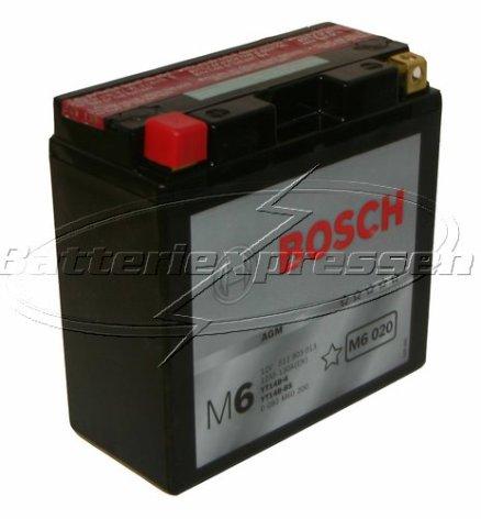 MC batteri 12Ah YT14B-4 Bosch M6020 AGM LxBxH:152x70x150mm