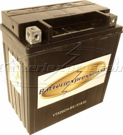 MC batteri 18Ah YTX20-BS Bosch M6024 AGM LxBxH:177x88x156mm