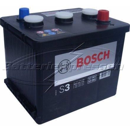 Bilbatteri 6V 77Ah Bosch S3061 S3061 1LLB78 DIN: 07715 LxBxH:216x171x188mm