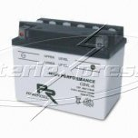 MC-batteri 4 Ah YB4L-A Poweroad SP3 Vätska lxbxh=120x70x92mm