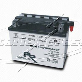 MC-batteri 4 Ah YB4L-B Poweroad SP3 lxbxh=120x70x92mm