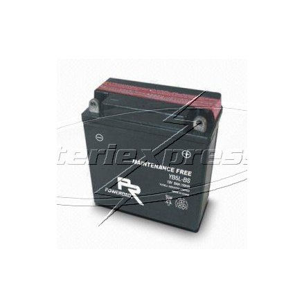 MC-batteri 5 Ah YB5L-B 12N5-3B Poweroad SP3 lxbxh=120x61x130mm
