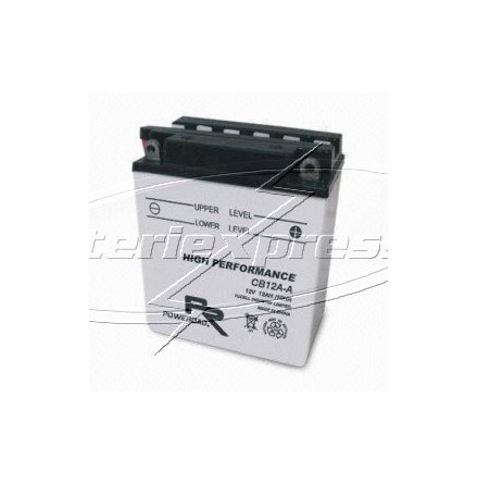 MC-batteri 12 Ah YB12A-B Poweroad SP3 lxbxh=135x81x162mm