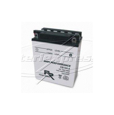 MC-batteri 12 Ah YB12A-B Poweroad SP3 lxbxh=135x81x162mm