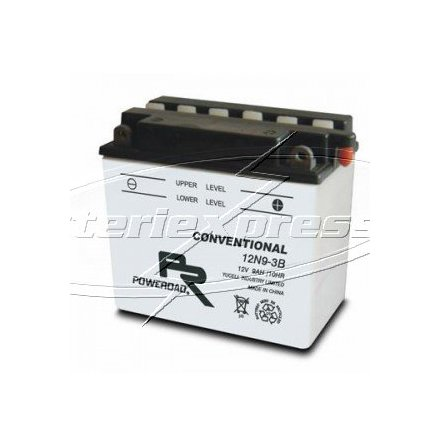 MC-batteri 19 Ah 12C16A-3B Poweroad SP3 Vätska lxbxh=185x82x170mm