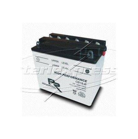 MC-batteri 19 Ah YB16-B Poweroad SP3 lxbxh=175x100x155mm