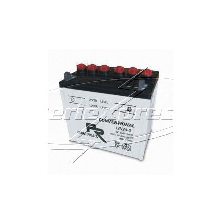 MC-batteri 24 Ah 12N24-3 Y60-N24L-A Poweroad SP3 lxbxh=186x126x173mm