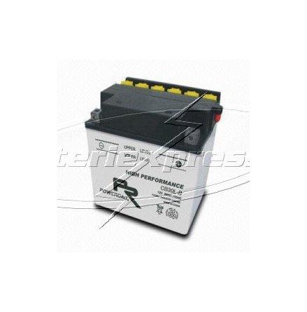 MC-batteri 30 Ah YB30L-B Poweroad SP3 lxbxh=168x132x176mm