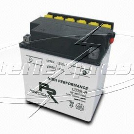 MC-batteri 30 Ah YB30L-B Poweroad SP3 lxbxh=168x132x176mm