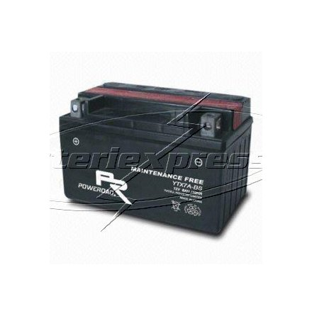 MC-batteri AGM 6 Ah YTX7A-BS Extreme Poweroad SP6 lxbxh=151x87x93mm