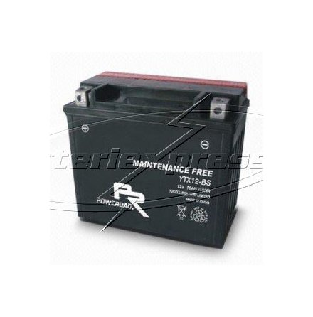 MC-batteri AGM 10 Ah YTX12-BS Extreme Poweroad SP6 lxbxh=151x87x130mm