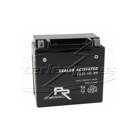 MC-batteri AGM 18Ah YTX18L-BS Extreme Poweroad SP6 lxbxh= 205x86x164mm