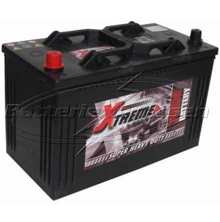 Startbatteri 12V 105Ah Amerikanska Extreme LxBxH:344x175x232mm