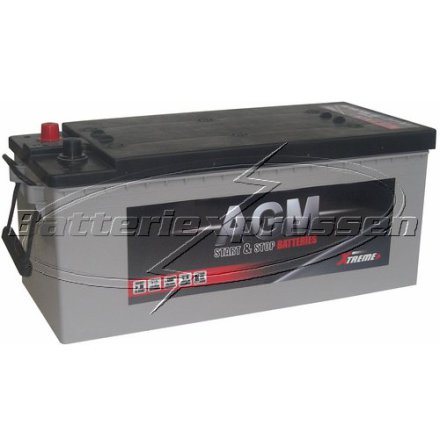Start/förbrukning 12V 170Ah LxBxH:470/513x223x223mm AGM batteri Extreme Excellent