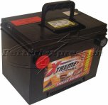 Bilbatteri 12V 70Ah LxBxH:260x179x188mm (Amerikanska)-Extreme Excellent