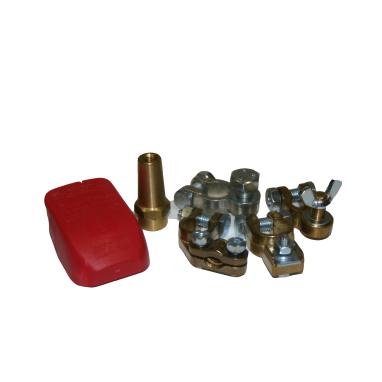 Batterikabelskor,poler och skydd