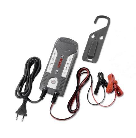 Batteriladdare Bosch C3 6V/12V För GEL, AGM samt vätskebatterier