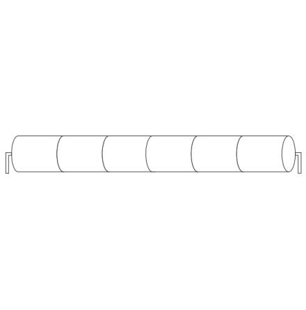 Batteripack 7,2V 1,7 Ah kabel rörända, NiCd, Nödljusbatteri