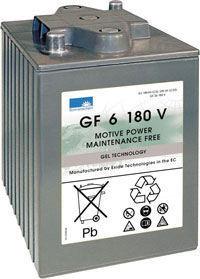 Gelbatteri 6V 200 Ah Sonnenschein GF6180V LxBxH:246x192x275mm