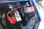 Startbooster SuperMini. Världens minsta! Startar upp till 4,5liters bensin-eller dieselmotorer.
