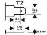 AGM batteri 12V 12,3 Ah Batteriexpressen. LxBxH: 150x97x99 mm