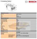 Startbatteri Bosch 12V/125Ah