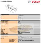 Start Bosch 12V/180Ah