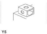 MC batteri 8Ah YTX9-BS Bosch M6010 AGM LxBxH:152x88x106mm