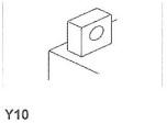 MC-batteri 19Ah 51913 Bosch M4045 LxBxH:186x82x171mm
