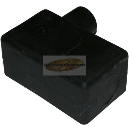 Batteripolskydd svart höger 10-70kvmm