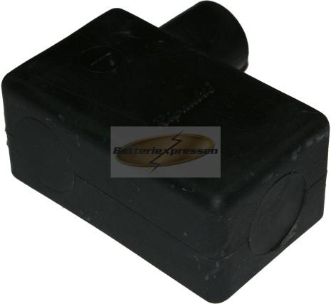 Batterikabelskoskydd svart
