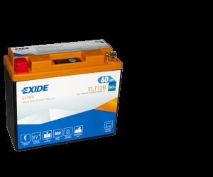 Tudor Exide MC Li-Ion batteri 260CCA ELT12B YT12B-BS 4306 lxbxh=150x65x130mm