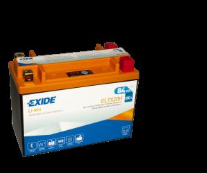 Tudor Exide MC Li-Ion batteri 380CCA ELTX20H YTX20H-BS 4310 lxbxh=175x87x130mm