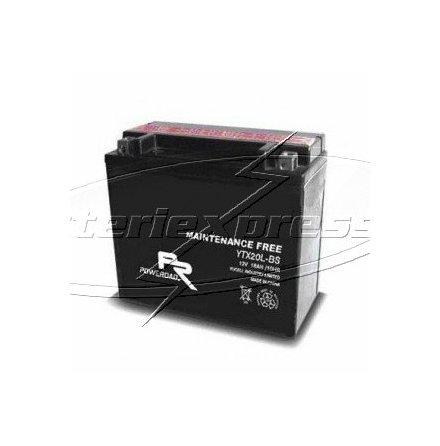 MC-batteri AGM 18Ah YTX20A-BS Extreme Poweroad lxbxh=150x87x161mm