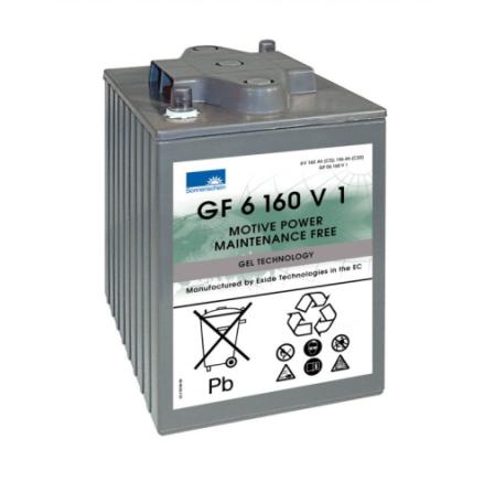 Gelbatteri 6V 196 Ah Sonnenschein GF06160V1. LxBxH:246x192x275mm