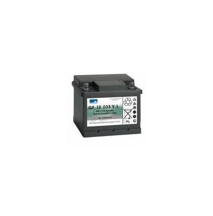 Gelbatteri 12V 38 Ah Sonnenschein GF12033Y1. LxBxH:210x175x175mm